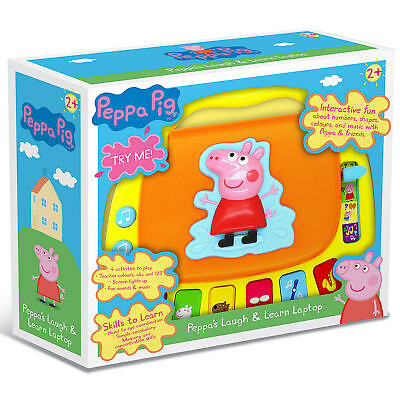 Peppa Pig's Laugh & Learn Laptop - NEW • 16.99£