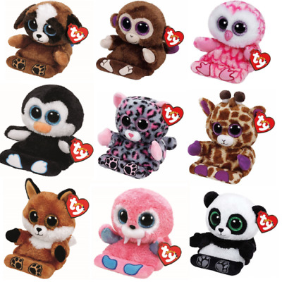 Ty Peek-a-boo Plush Mobile Phone Holder & Screen Wipe - Choose Your Own • 8.50£