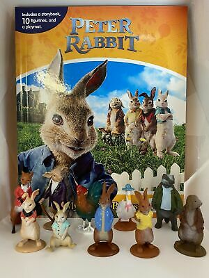 Peter Rabbit Busy Book - Story 10 Figures And A Playmat Brand New • 11.99£