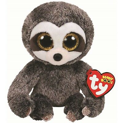 Ty Beanie Boos 36215 Dangler The Brown Sloth Boo Regular • 7.50£