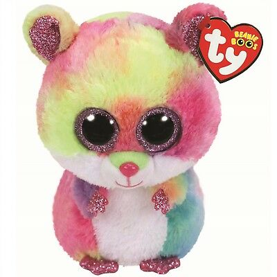 Ty Beanie Boos 36214 Rodney The Pink Hamster Boo Regular • 7.50£