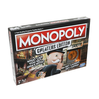 Monopoly Cheaters Edition Board Game • 19.95£