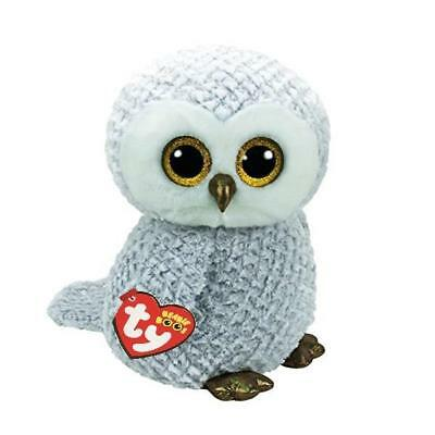 Ty Beanie Boos 36840 Owlette The Grey Owl Boo Large • 29.95£