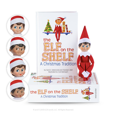 Official Elf On The Shelf® A Christmas Tradition Includes One Scout Elf And Book • 19.95£