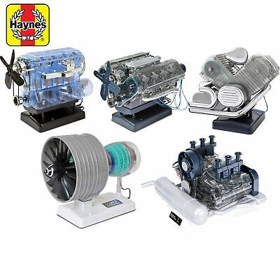 Haynes Build Your Own Model Engine Kit Car Jet Birthday Christmas Gift Present • 39.95£