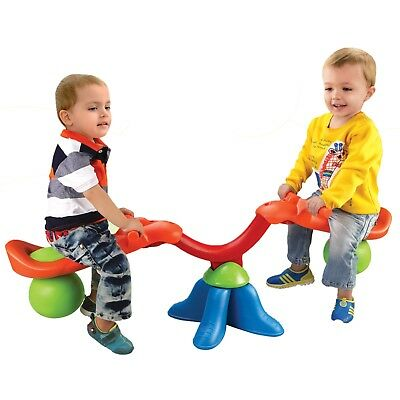 Kingsport Kids Real Action Seesaw Children Toddler See Saw Rotating Garden NEW  • 30.99£