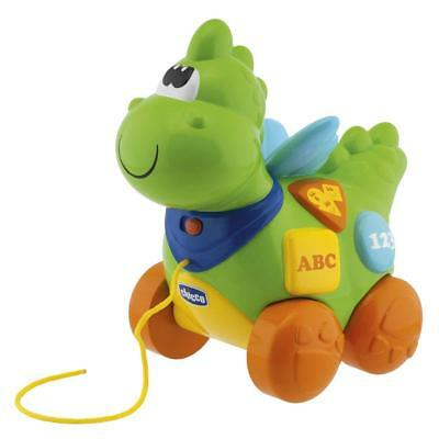 Chicco Educational French + English Speaking Pull Along Electronic Dragon Baby  • 19.99£