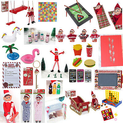 Naughty Elf Accessories Props On The Shelf Ideas Advent Toy Christmas Games • 1.25£