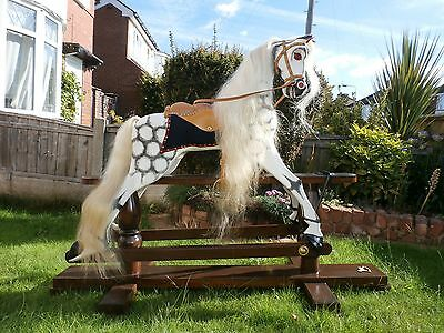 Large Wooden Victorian Style Rocking Horse • 1,500£