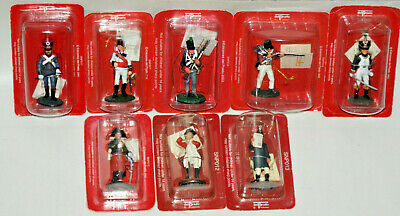 Del Prado Collection Military Minitures 1/32 Die Cast Painted Lead Army 1800's • 7.99£
