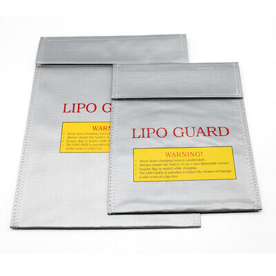 Lithium Lipo Battery Storage Bag Fireproof Explosion-proof Charging Protection • 5£