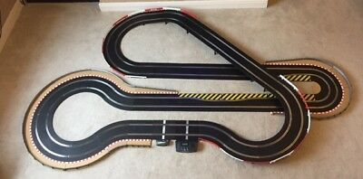 Scalextric Sport Large Layout With Hairpin / Chicanes & 2 Cars • 180£