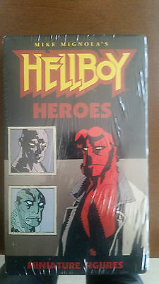 Hellboy And The BPRD Miniatures Boxed Set 6 Metal Pewter Miniatures • 30£