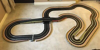Scalextric Sport Large Layout With Bridge / Hairpin & 2 Cars  • 195£