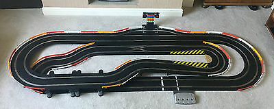 Scalextric Digital Layout With Pit Lane & Game / Double Hairpin & 2 Cars  • 375£