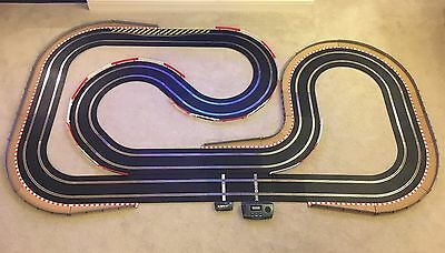 Scalextric Sport Layout With Lap Counter / Chicanes/ Fully Bordered & 2 Cars  • 195£