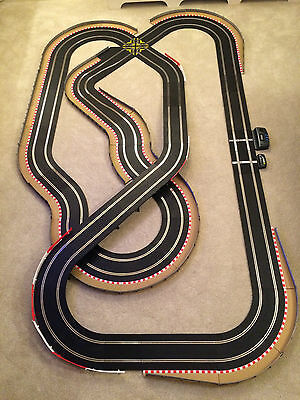 Scalextric Sport Layout With Lap Counter / Half Hairpin / Crossover & 2 Cars • 230£