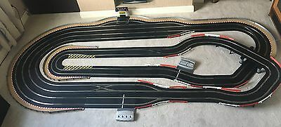 Scalextric Digital 4 Lane / 3 Lane Changers / Pit Game / Lap Counter & 4 Cars • 770£