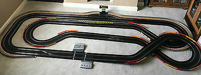 Scalextric Digital Very Large Layout With Lap Counter & 4 Cars • 600£