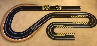 Scalextric Digital Track Extension Double Hairpin / Chicanes & Leap Ramp   • 120£