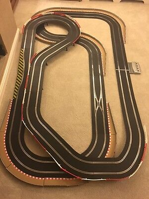 Scalextric Digital Large Layout With / Long Flyover / Chicanes & 2 Cars  • 305£