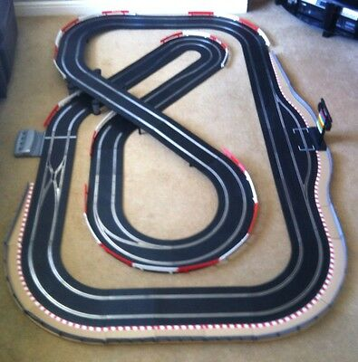 Scalextric Digital Advanced Layout With Pit Lane & Game & 4 Digital Cars Set • 445£