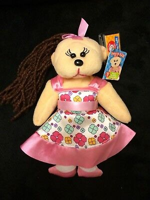 Collectable Beanie Kids - Megan The Spring Fashion Bear : With Tag & Code • 9.32£