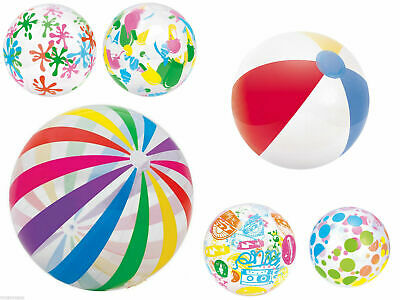 New 16  24  42  Inflatable Blowup Pool Beach Ball Holiday Party Swimming Garden • 3.49£