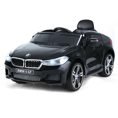 HOMCOM Kids Ride On Car Licensed BMW 6GT 6V Electric Battery Powered Music Play • 146.99£