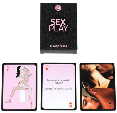 SEX PLAY PLAYING CARDS Card Game XXX Adult Rude Fun Sex Aid UK SELLER Discreet • 6.99£