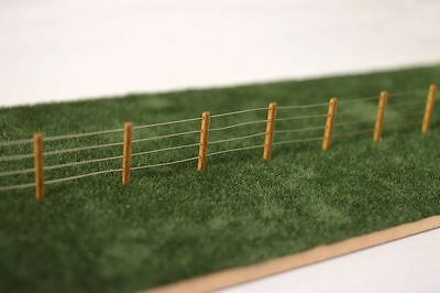44x LASER CUT 4ft FENCE POSTS FOR SCALEXTRIC & FARM DIORAMAS 1:32 SCALE LX058-32 • 5.49£
