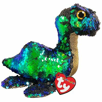 Ty Beanie Flippables 36353 Nessie The Loch Ness Monster Sequin Flippable Regular • 9.95£