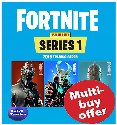 Panini Fortnite Trading Cards Epic & Legendary Cards 201-300 - You Choose • 6£