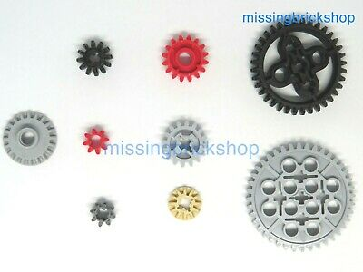 LEGO Technic Gears - 9 Types - Select Type (see Description Also) And Qty - NEW  • 6.49£