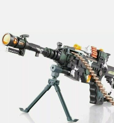 New Pistol Toy Gun With Light ,Sound & Vibration Effects For Kids Toys UK Seller • 9.99£