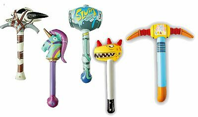 FORTNITE Inflatable Pickaxe Fancy Dress Gaming Pick Axe Death Valley Rainbow Etc • 7.45£