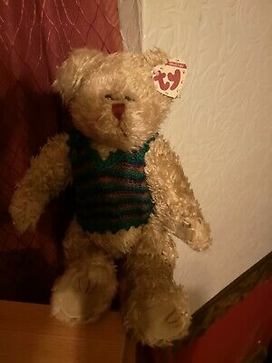 Ty Grover Gold Collectable Bear • 6£