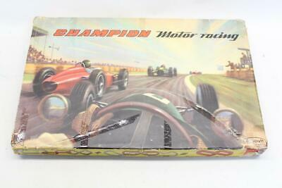 Jouef Playcraft Champion Motor Racing Slot Car Vintage Set Boxed With Cars  • 79.50£