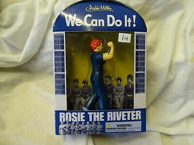 Rosie The Riveter Figure By Archie McPhee • 14£