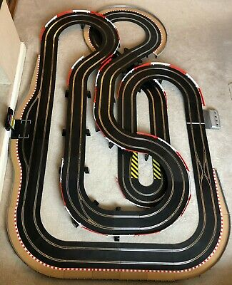 Scalextric Digital Advanced Layout With Pit Lane & Game / Hairpin & 4 Cars • 535£