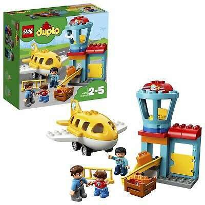 LEGO DUPLO My Town Airport Building Set With Airplane 10871 • 15.95£