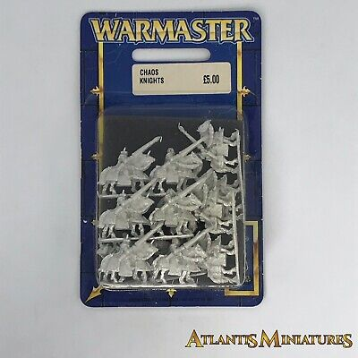 Chaos Knights Blister - OOP - Warmaster Warhammer CCCC294 • 34.99£