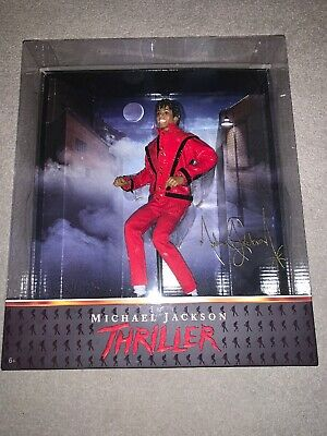 2010 Playmates Toys / Character Michael Jackson Thriller 10  Doll Figure Boxed • 99£
