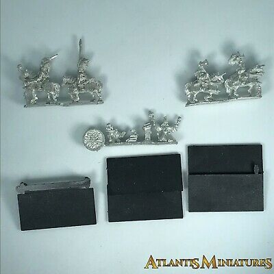 Empire Command Unit Blister - OOP - Warmaster Warhammer C842 • 39.99£
