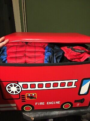 Storage Box With 10 Boys Costumes • 30£