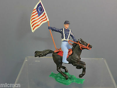 VINTAGE CHERILEA MODEL No.xxx   WILD WEST  MOUNTED US CAVALRY STANDARD BEARER • 22.95£