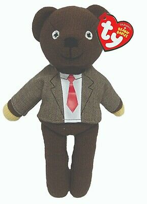 Ty Beanie Mr Bean Teddy  With Jacket And Tie Soft Toy 9 Inch New Gift 46226 • 8.97£