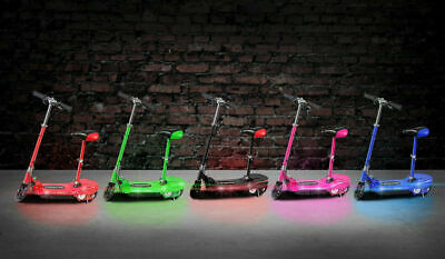 Kids Electric E Scooter 120w 24v Ride On Cars Outdoor Toy Rechargeable Light  • 99.99£