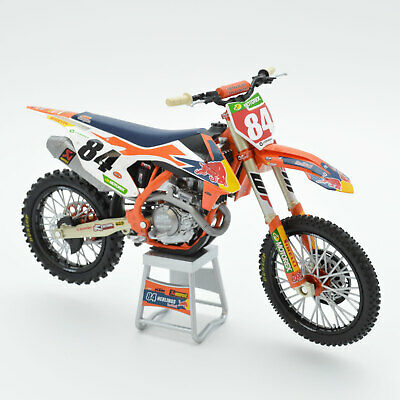 Herlings Red Bull KTM 450 SX-F 1:12 Motocross Mx Toy Model Bike New Ray 2019 • 19.95£