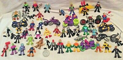 IMAGINEXT FIGURES BATMAN VILLAINS DC HEROES Power Rangers *Please Select* • 12.99£